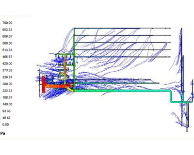 CFD Analysis of HVAC Ducting – 2 Units